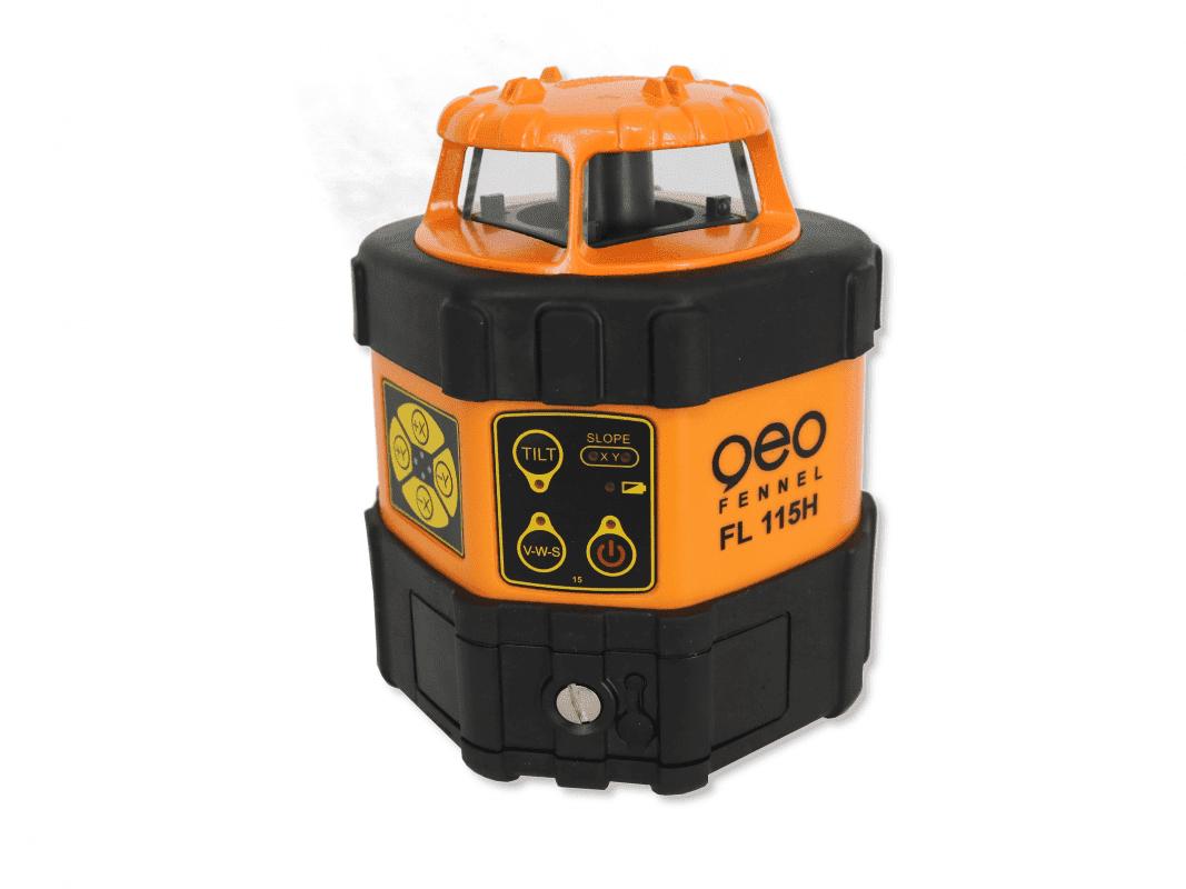 mesprofiservice_geo-Fennel_FL_190_H_Rotationslaser_Metor_MTR-90RG_laser_front